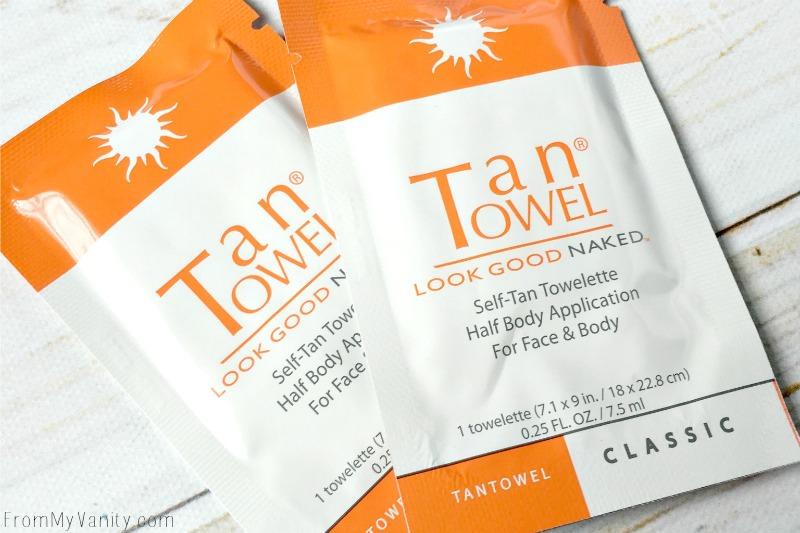 Tan Towel from Glossybox's June box