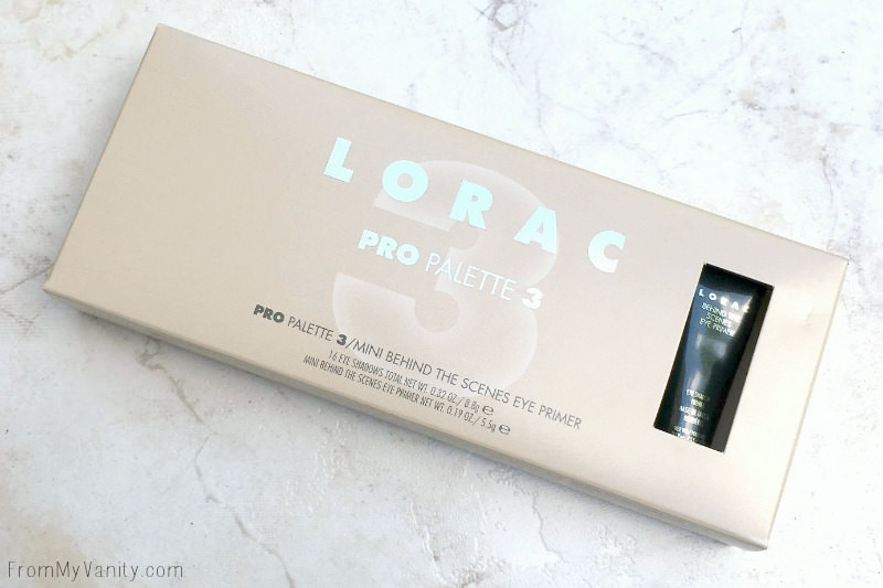 LORAC PRO 3 Palette in the box!