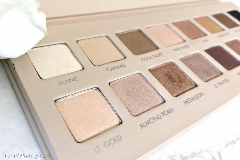 Close up of the LORAC PRO 3 palette!