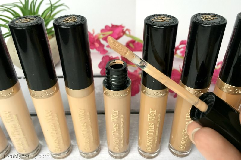 Applicator on the Too Faced Born This Way concealers