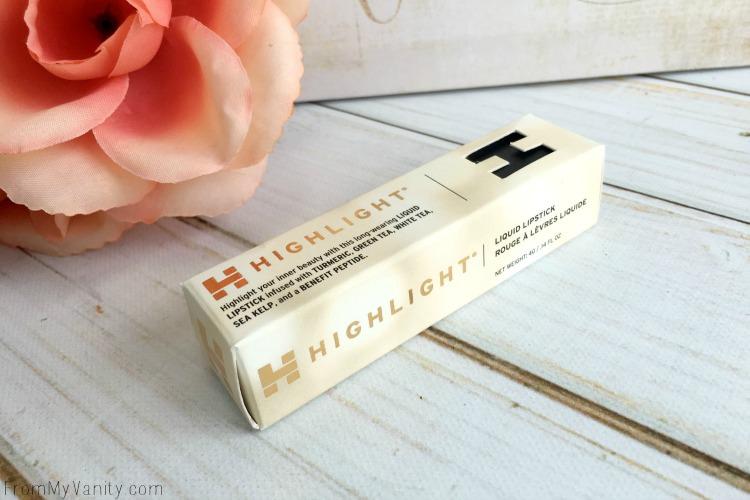 Highlight Cosmetics box packaging