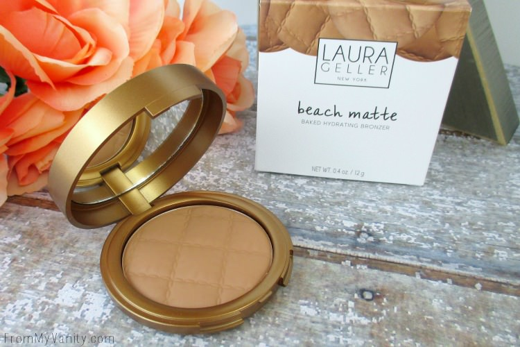 Laura Geller's Beach Matte Baked Hydrating Bronzer is stunning!