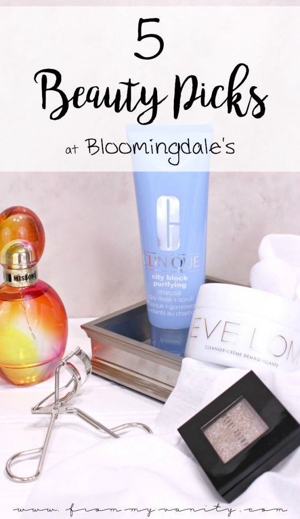 The Top 5 Products you NEED to try from Bloomingdale's