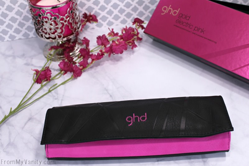 ghd's limited edition pink flat iron is stunning!