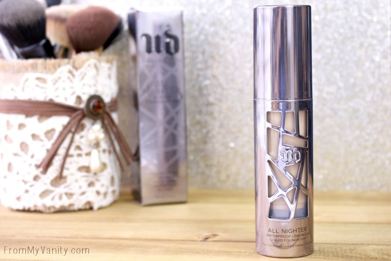 The packaging on the Urban Decay All Nighter foundation is BOMB!