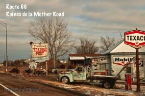 {Route 66} au hasard de la route au Nouveau Mexique