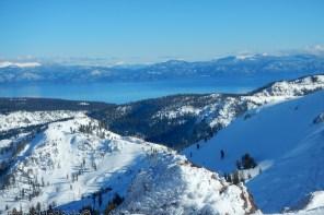 Squaw Valley 2016 : le bleu du lac au bout des skis