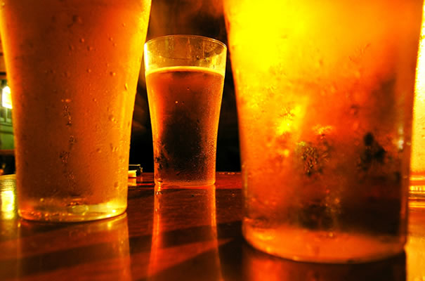 Pintas de cerveza