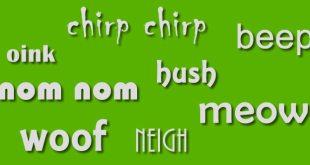 onomatopeyas en inglés