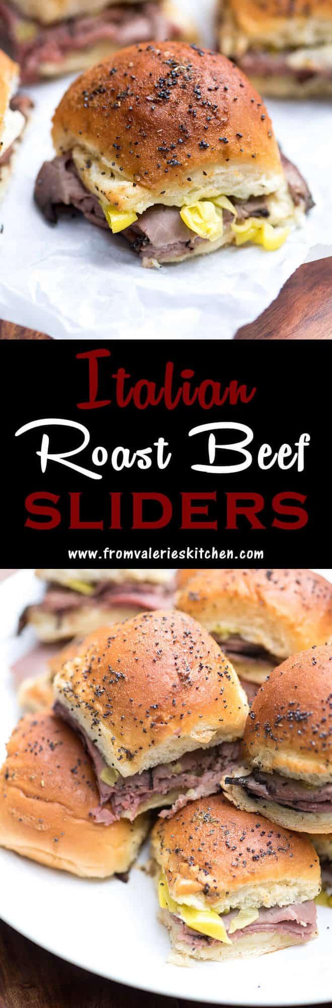 Large Of Roast Beef Sliders
