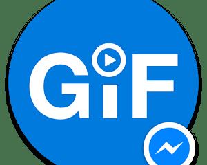 GIF for Facebook messenger