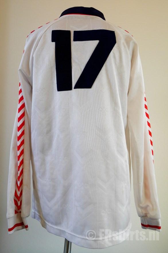 1989-1991 Uitshirt Wit Achterkant