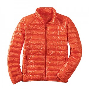 Uniqulo Ultra Light Down Jacket - Orange