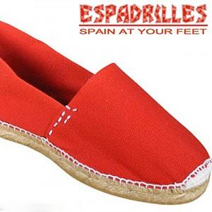 Red Espadrilles - Espadrilles.ca