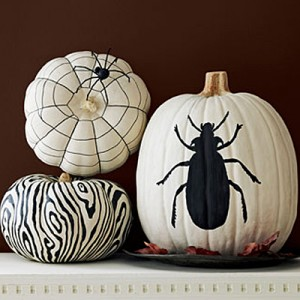 painted-pumpkins Country Living magazine