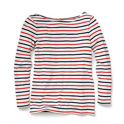 Joe Fresh Marine boatneck Tee $24