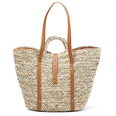 Zara Large Basket Tote $30