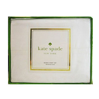 Kate Spade Sheets at HomeSense