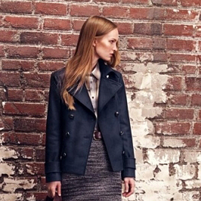 Lori Pea Coat-Club Monaco