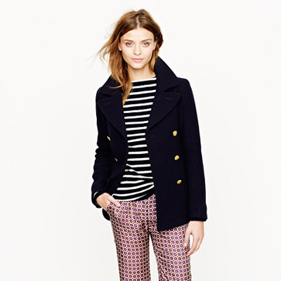 Majesty Pea Coat J. Crew