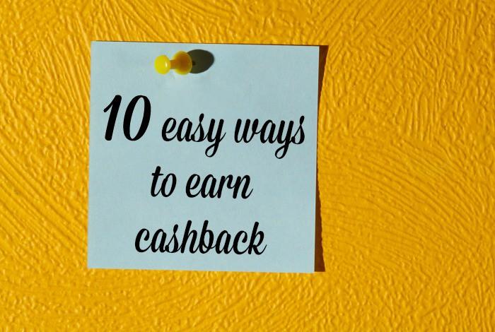 Ten BRILLIANT ways to earn cashback….