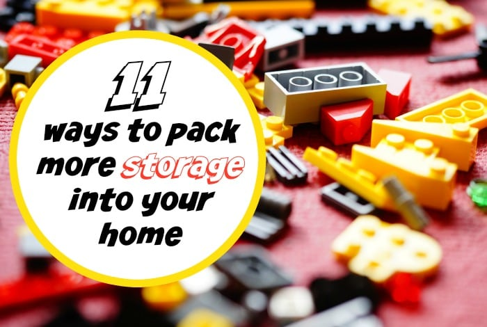 Eleven ways to pack more storage into your home….