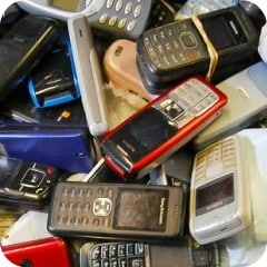 Wondering what to do with your old mobile phones….