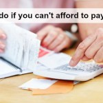 Let's talk about what happens when you can't afford to pay the bills….