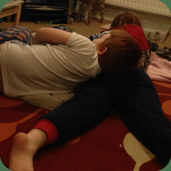 1 snuggling