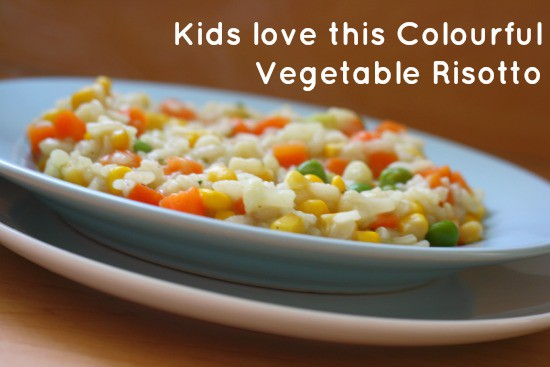 It's amazing in this colourful and simple vegetable risotto.