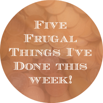 5 frugal things