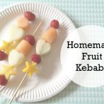 Cooking with Kids – Fruit Kebabs….