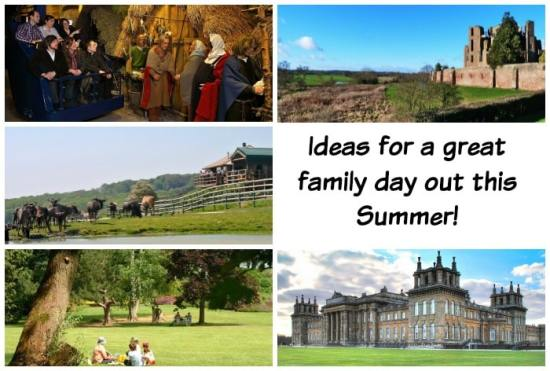 Here's a few ideas for some great days out this Summer….