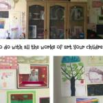 What do you do with all the works of art your children make?