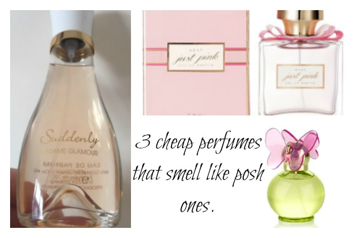 3 cheap perfumes that smell like posh ones….