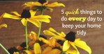 5 quick things to do every day to keep your home tidy