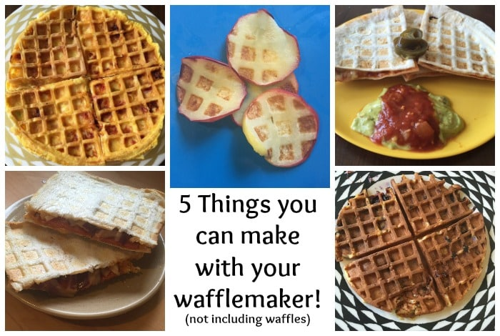 Five things you can make using a wafflemaker (and none of them are waffles)….