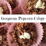 No Cook Popcorn Crispy Cakes….