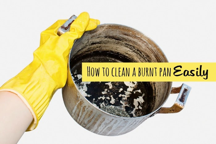 7 ways to clean a burnt pan – easily….