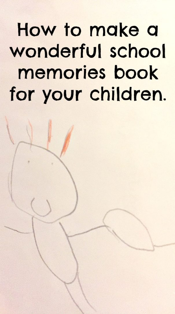 How To Make A Book About Your Life ~ How to make a wonderful school memories book for your