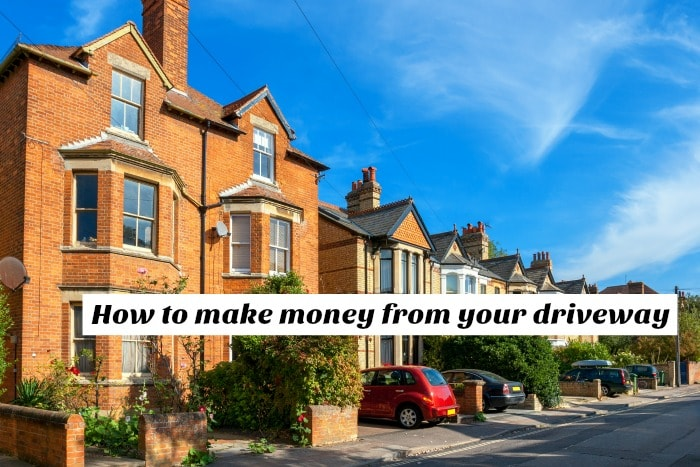 How to earn money from your driveway….