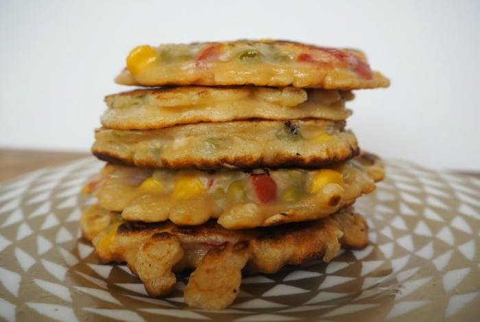 Fun Food For Kids – Rainbow fritters….