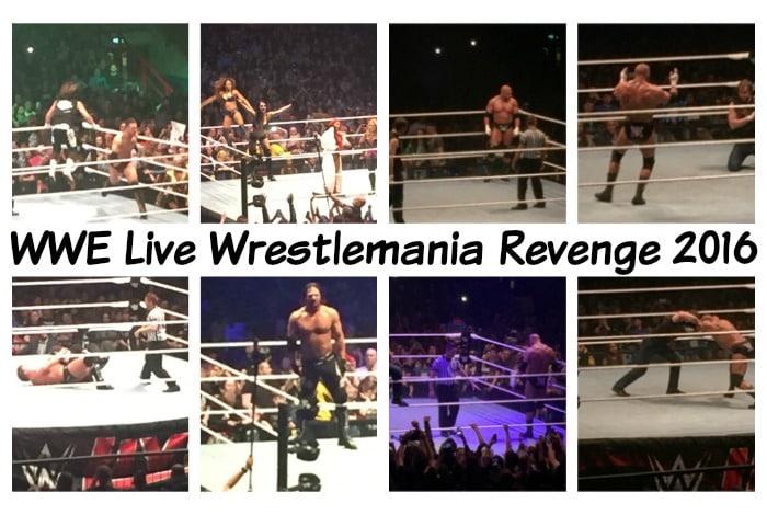 WWE Live Wrestlemania Revenge 2016….