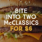 DEAL: McDonald's – 2 for $6 – Big Mac/McChicken/Quarter Pounder/Filet O Fish on mymacca's app (until March 19)