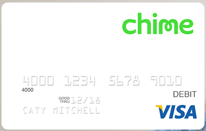 Welcome to Chime Everything: Chime Card