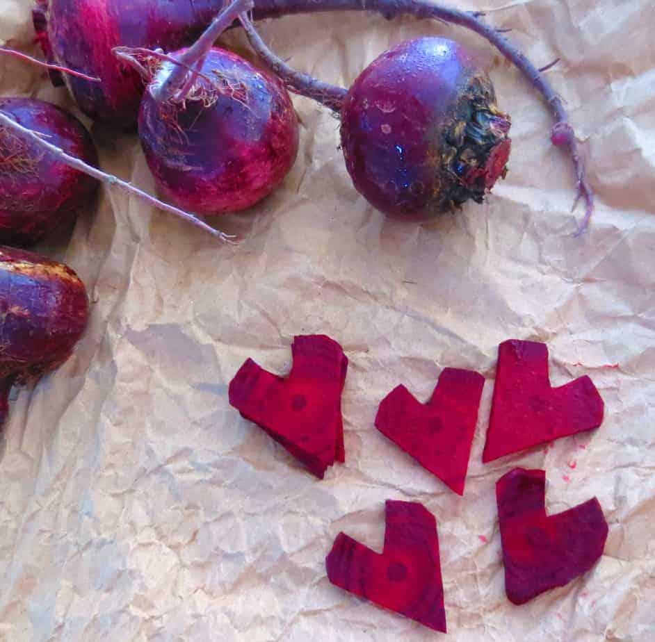 Beet Hearts Sweet Hearts