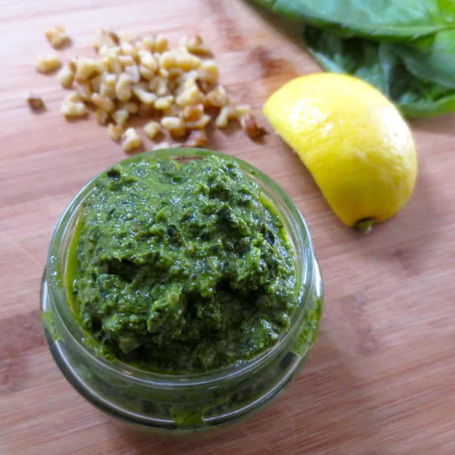 Easy Homemade Pesto