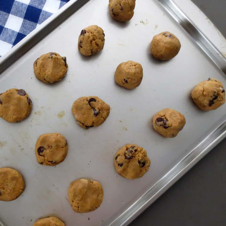 Whole Wheat Chocolate Chip Cookie Dough