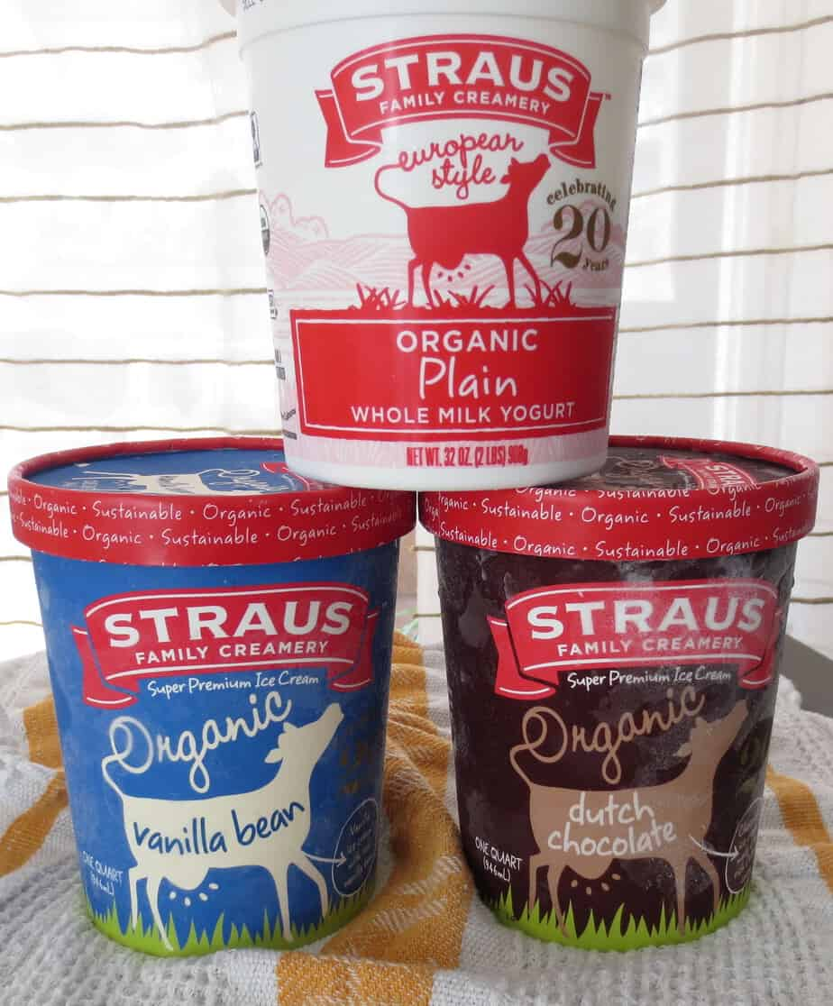 Straus Yogurt and Ice Cream
