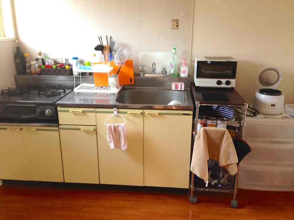 My tiny Japanese kitchen | Frugal Nutrition